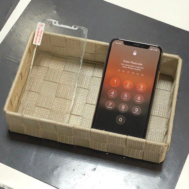 10分程で施工出来て強度もバツグン!iPhoneガラスコーティングのお修理【豊中市からのご来店】