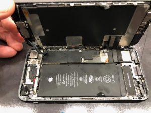 iPhone8水没状態
