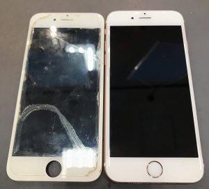 iPhone6sの画面交換