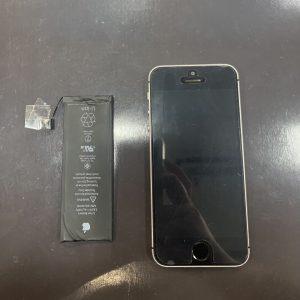 iPhoneSE バッテリー