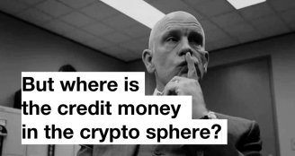 Where is the credit-money in the crypto sphere?