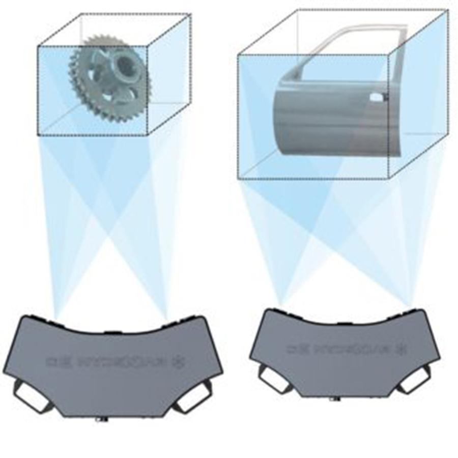 eviXscan 3D Heavy Duty Quadro 3D scanner - 2 scanning ranges