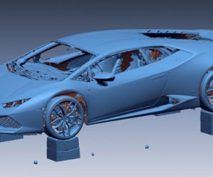 Reverse Engineering - New car design