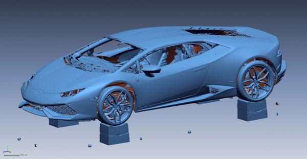Reverse Engineering – New car design