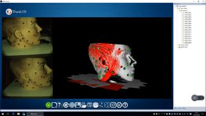 Quét 3D bề mặt tượng thạch cao sử dụng máy quét 3D cầm tay Thunk3D Fisher