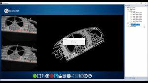 Quét 3D chi tiết cơ khí sử dụng máy quét 3D cầm tay Thunk3D Fisher