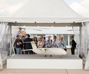in 3D máy bay Airbus không người lái