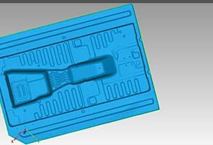 Kiểm tra chất lượng sản xuất gầm xe ô tô Mercedes bằng máy scan3D