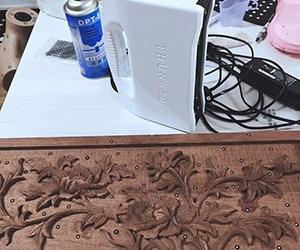 Chuẩn bị dụng cụ Scan 3D đồ gỗ