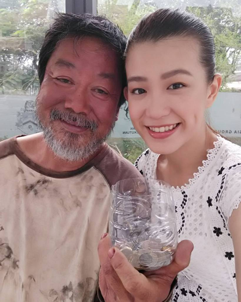 Veteran Actor Johnny Goh Plays Homeless Man_Johnny Goh_Paige Chan