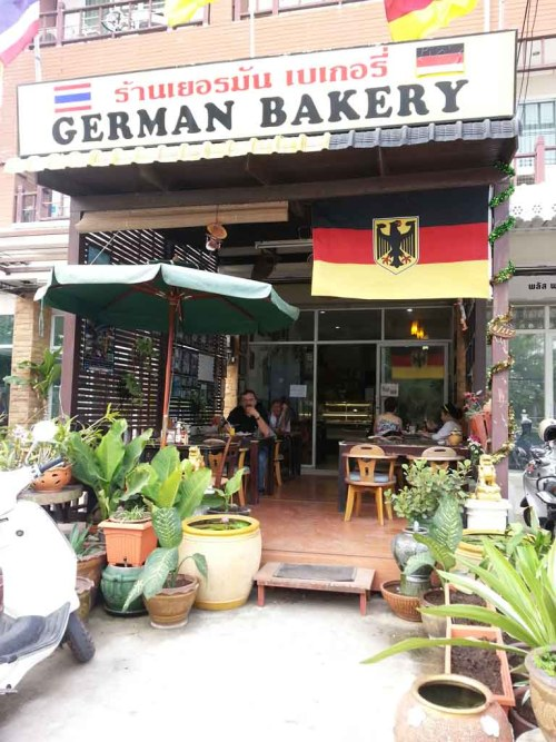 Big Breakfast At German Bakery Hua Hin Thailand