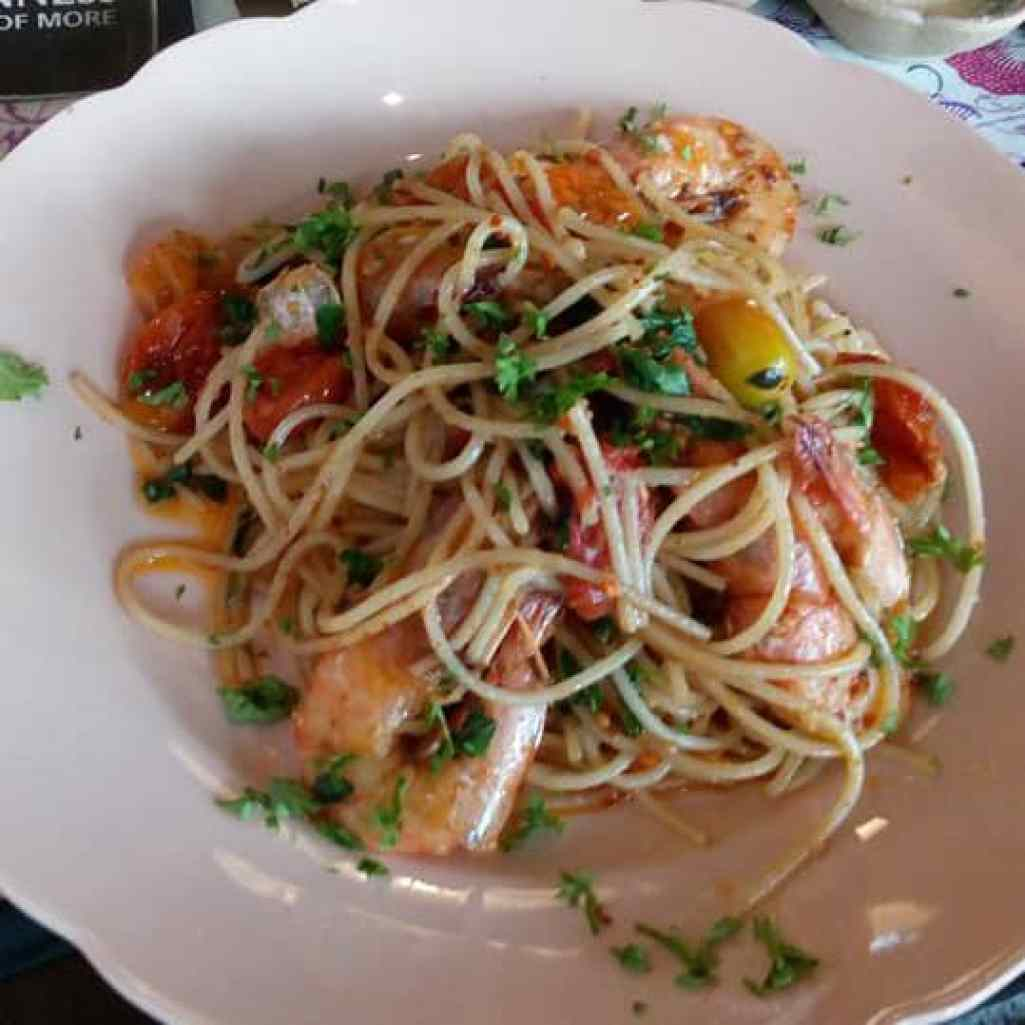P Ramlee's Lagenda Cafe Malay Cuisine With A Twist Penang_Seafood Pasta