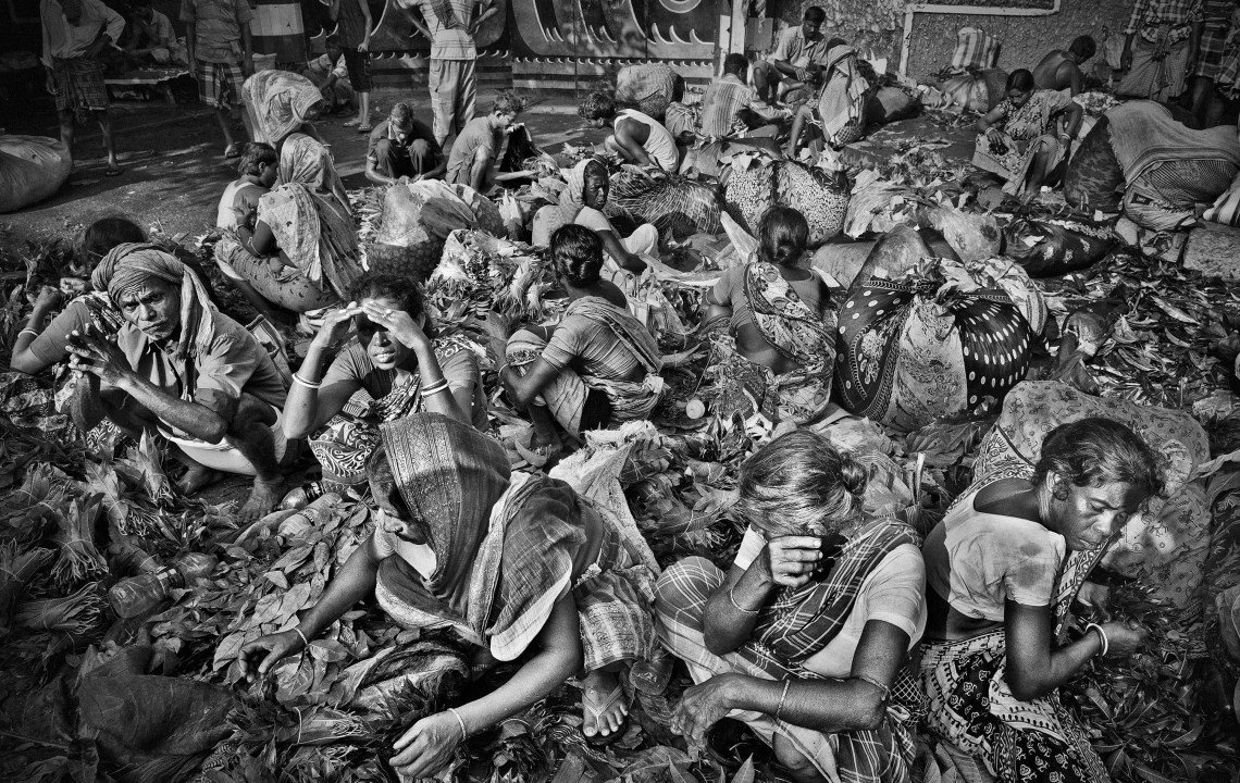 Sacred River B&W Photography Exhibition Hin Bus Depot