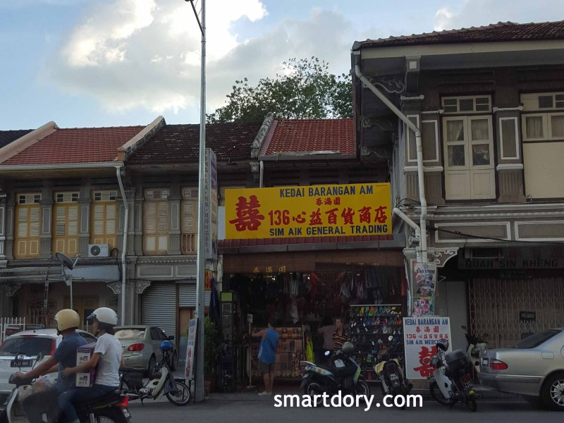 George Town's Old General Store, Penang