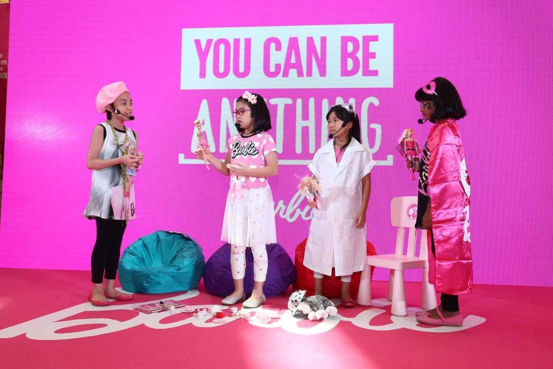 BARBIE_ World of Endless Possibilities Exhibition 9_ Launch opening stage act by students from Lorna Whiston_smartdory 2016