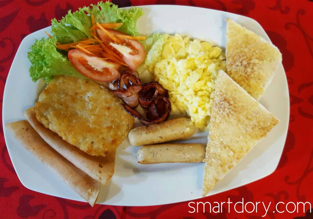 Trendy Cafe Style Western Big Breakfast with Eggs in Penang