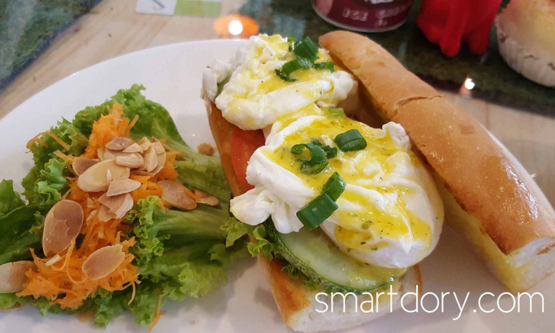 Trendy Cafe Style Western Big Breakfast with Eggs in Penang Moulmein Gourmet