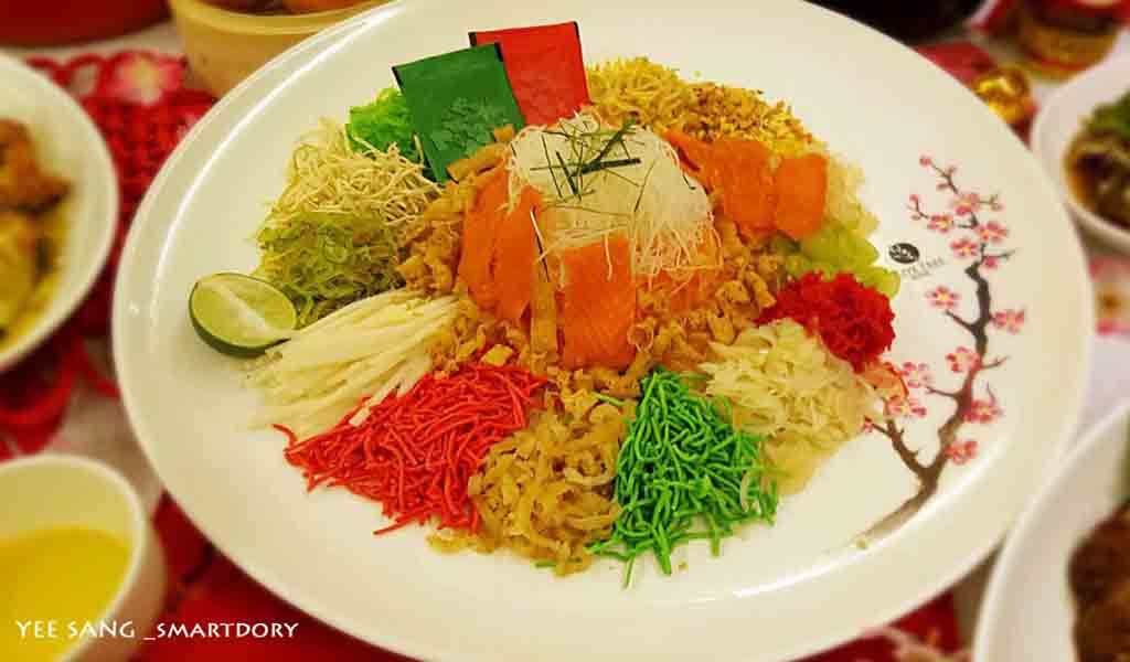 12 Steps Prosperity Yee Sang Toss for Chinese New Year