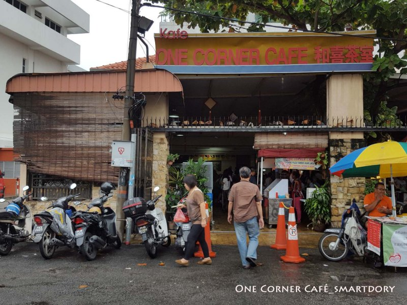 Breakfast Pit Stop One Corner Café At Jalan Bawasah Penang
