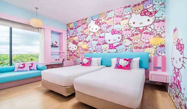 7 Cute Hello Kitty Rooms For Kids Hotel Jen Puteri Harbour