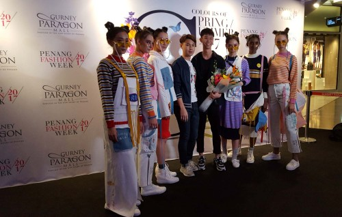 Celebrities Socialites Grace Penang Fashion Week 2017