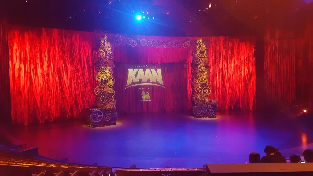 KAAN Show Pattaya Singha D'Luck Cinematic Theatre Thailand