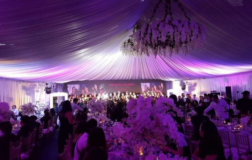 Gala Reception Women's Journey Thailand Campaign 2017 Banquet Tent