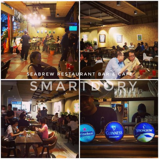 Seabrew Restaurant, Bar & Cafe | Gurney Drive, Penang