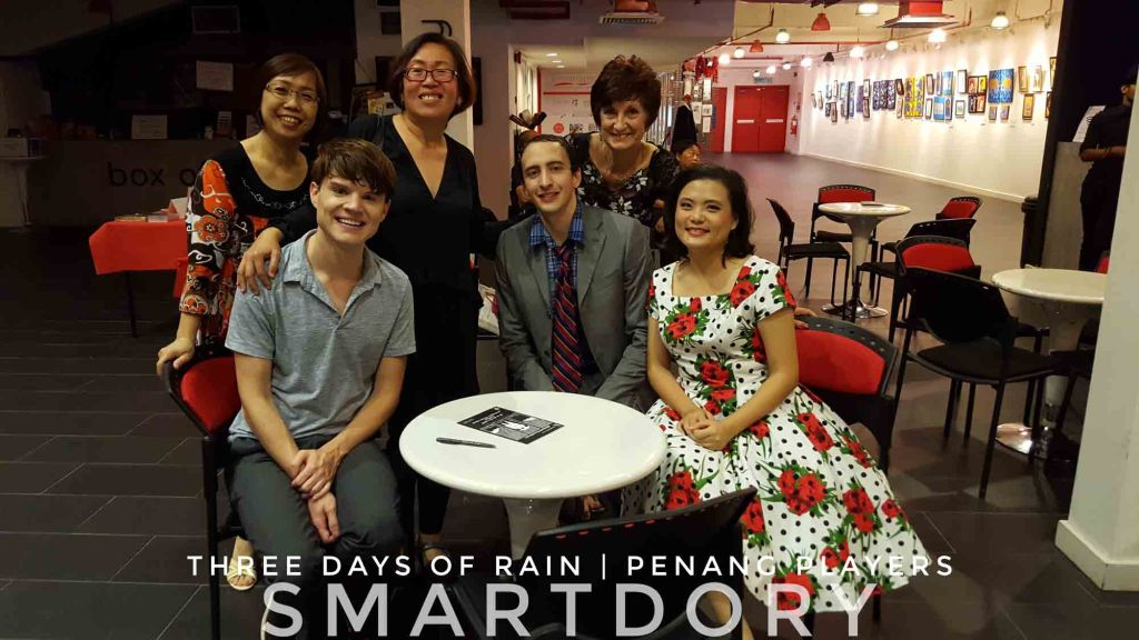 Penang Players' Stages Richard Greenberg's 'Three Days of Rain'