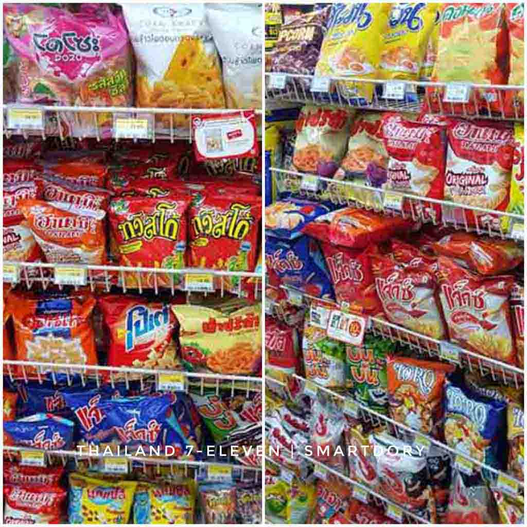 Top 8 Things To Buy 7-Eleven Convenience Store Thailand Chips