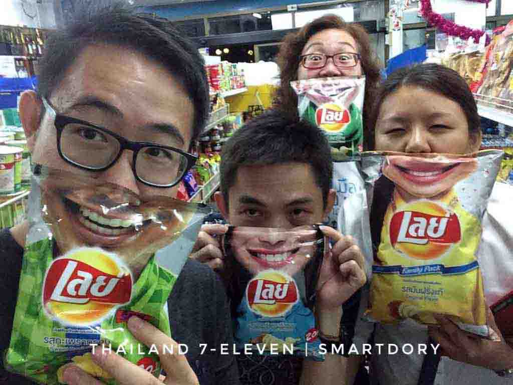 Top 8 Things To Buy 7-Eleven Convenience Store Thailand Lay Chips