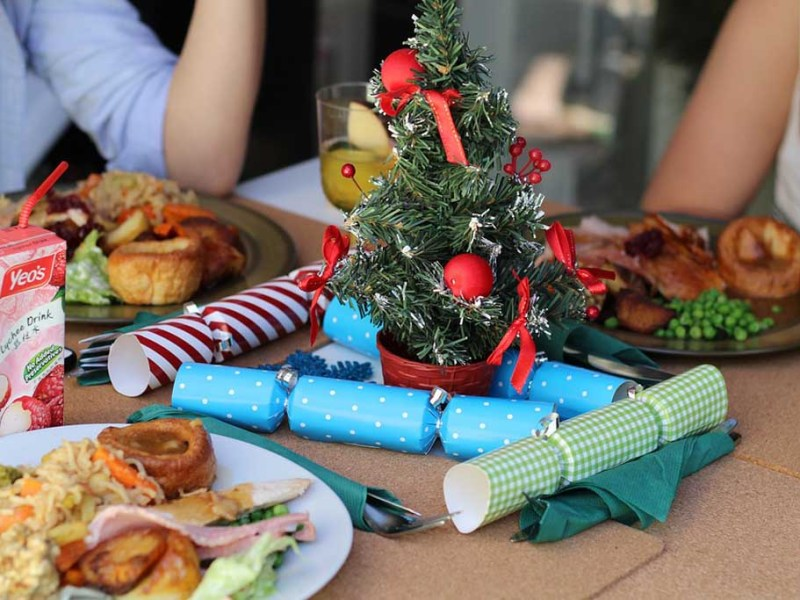 4 Different Christmas & New Year's Tasty Treats At Hotels