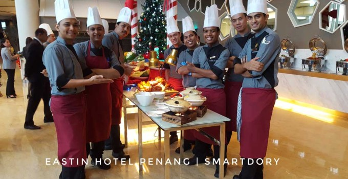 Christmas Eve & Christmas Day Buffet Dinner At Eastin Hotel_Chefs Line Up