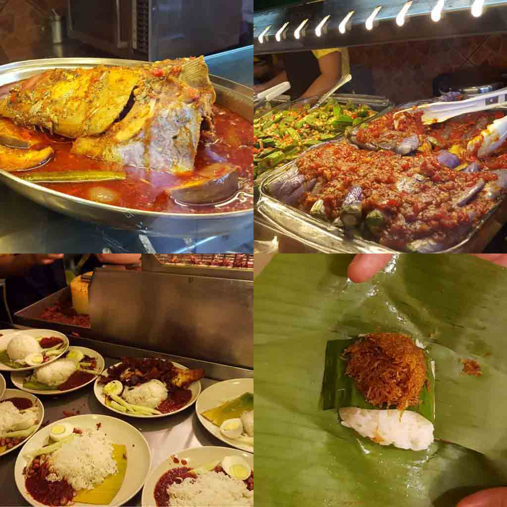 Eating Village Park Famous Nasi Lemak at Damansara Uptown
