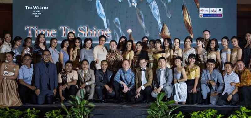 Westin Resort Nusa Dua Bali Celebrates Time to Shine
