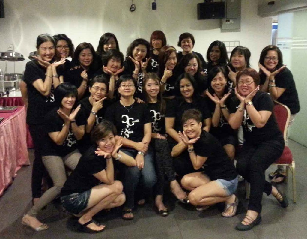 CLS Girls Celebrate Friendship Forged Over the Years_KL girls in 2014