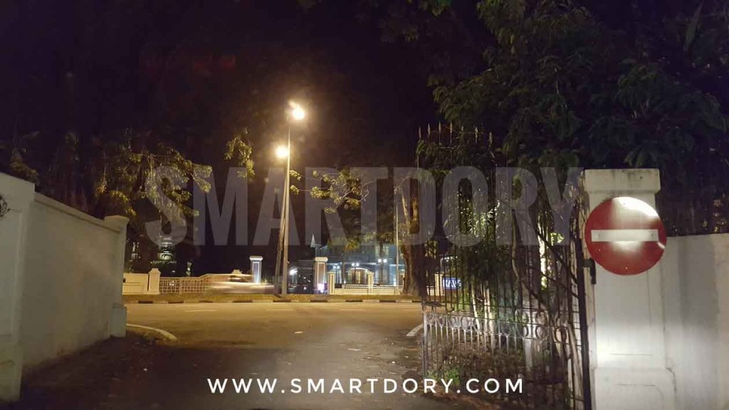 24 hour Penang Digital Library Looks Awesome Past Midnight_ entrance gate