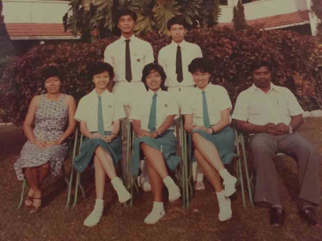 St. Xavier's Class of 80   82 Celebrate Rocking 55 Reunion_Form 6 Students