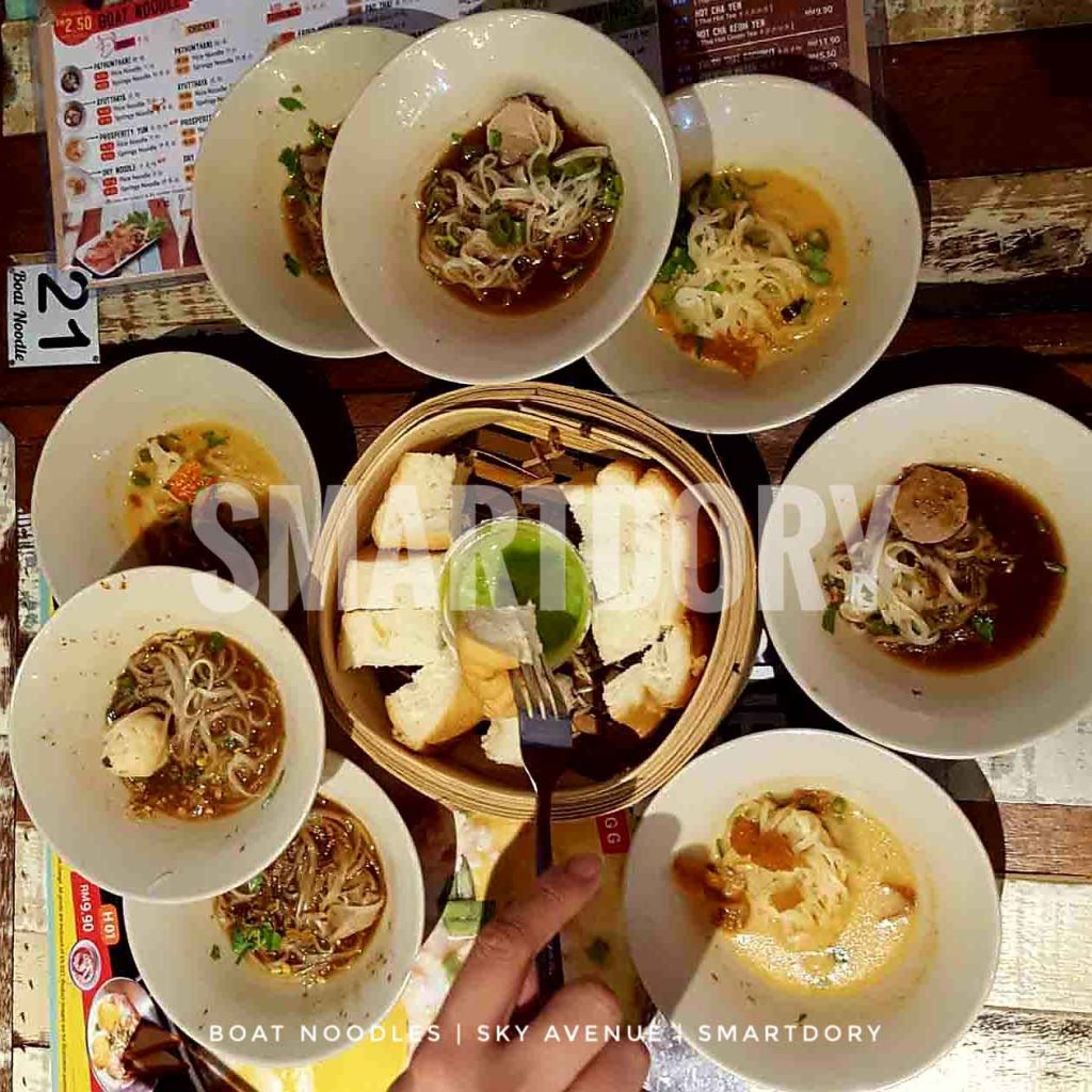 24 hour Food Trail Experience Sky Avenue Genting Highlands_Boat Noodle