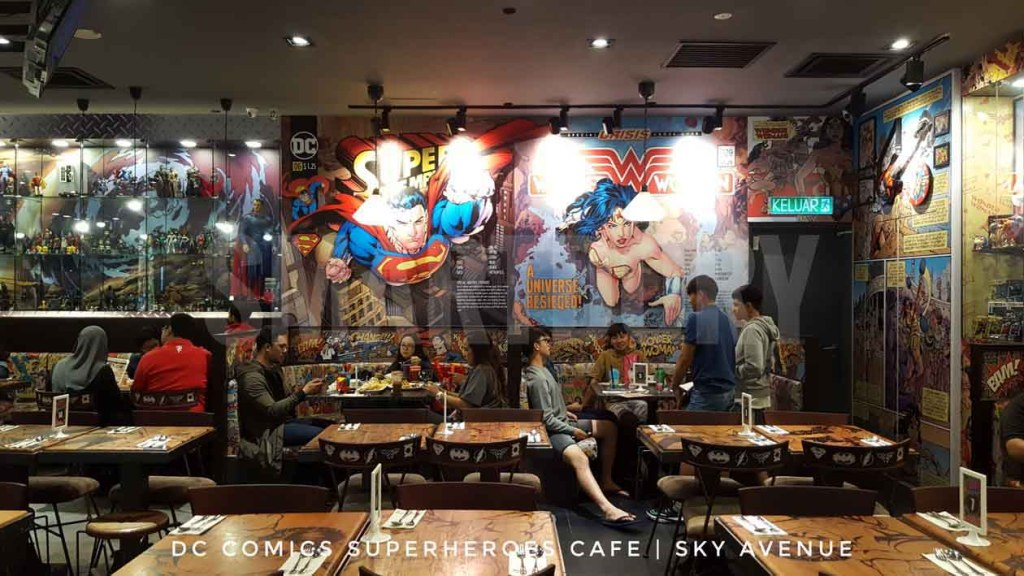 24 hour Food Trail Experience Sky AvenueGenting Highlands_DC Comics