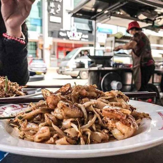 Favourite Day & Night Char Kuey Teow Stalls in Penang