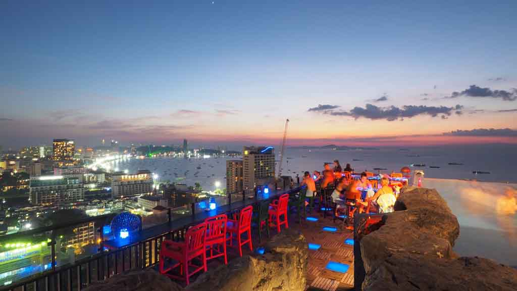 4 Best Rooftop Bars and Restaurants in Pattaya