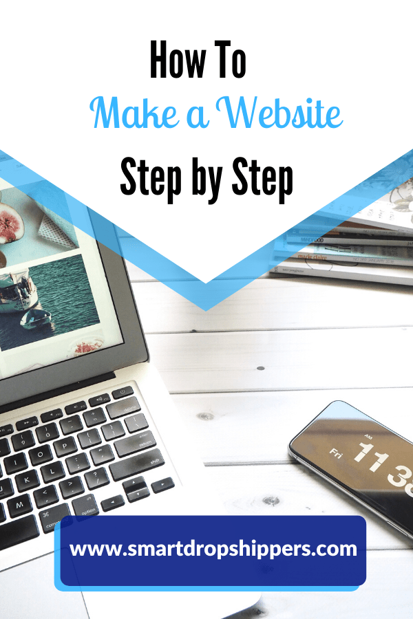 how to make a website step by step instructions