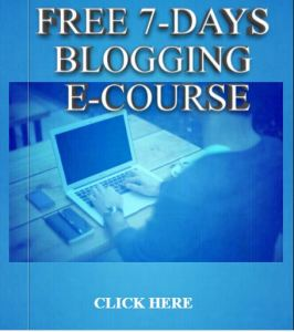 bloggingecourse