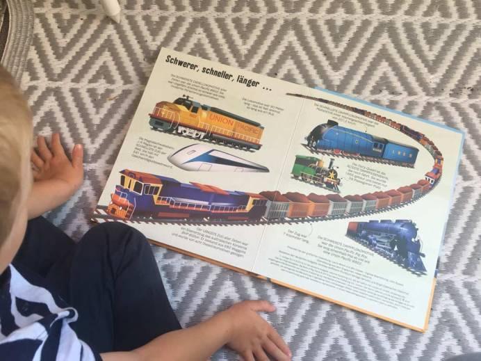 Einblick in das Buch Das große Buch der großen Züge