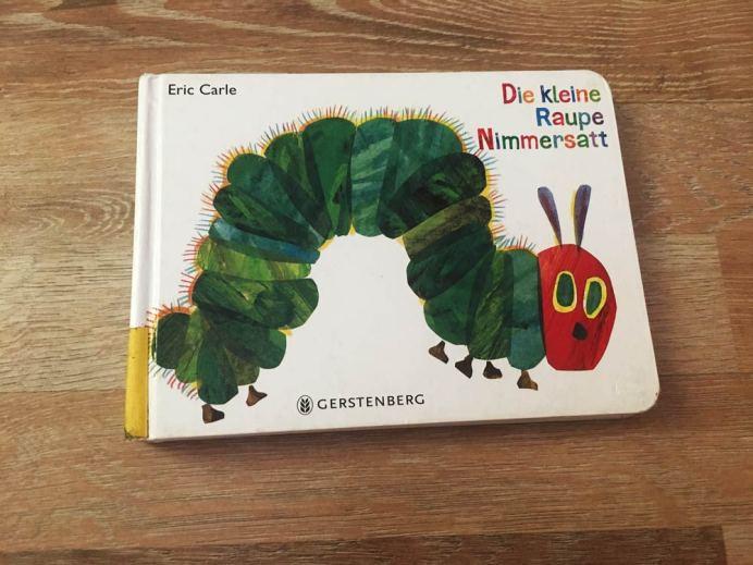 Zahlen lernen mit Die kleine Raupe Nimmersatt