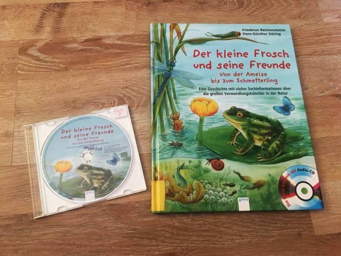 Die besten Bücher für Kinder ab 4 Jahre Der kleine Frosch und seine Freunde