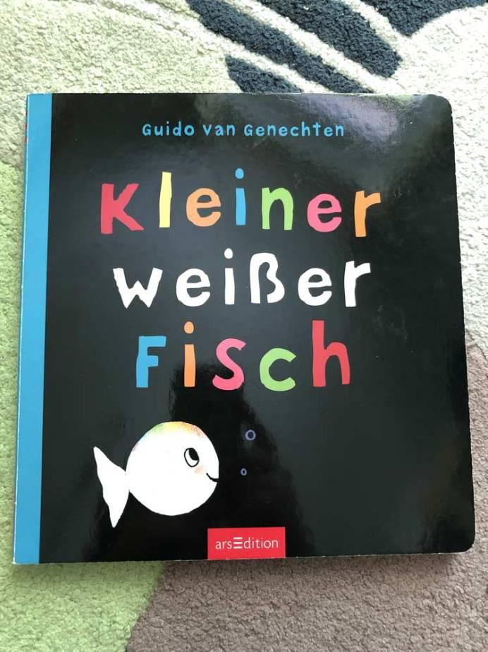 Die besten Bücher für Kinder ab 2 Jahre Der kleine weiße Fisch