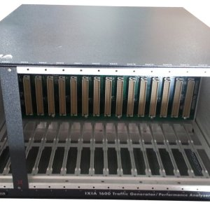 Ixia 1600 16 slot Rack Mountable Traffic Generator Analyzer Chassis