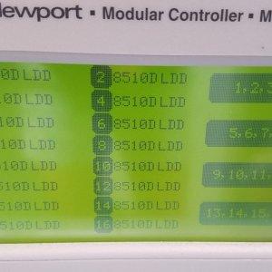 Newport Model 8016 Modular Controller w/ 16 x Newport 8510D Dual LDD module